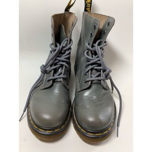 Gray Dr. Martens Boots!!!
